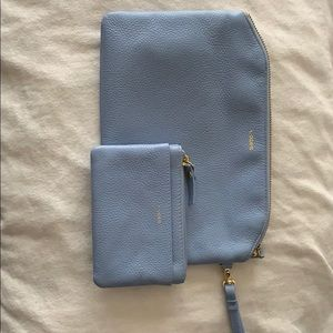 Matching Lodis RFID wristlet and coin purse